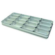 Cutie de aluminiu cu 16 compartimente