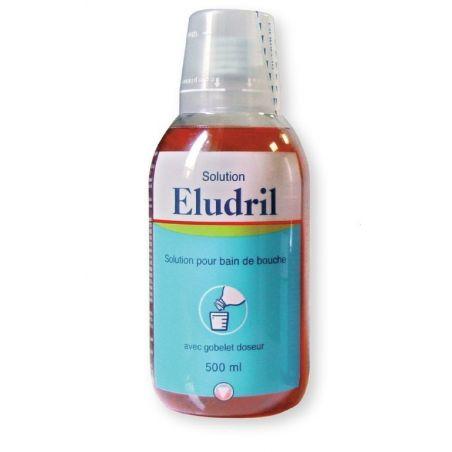 Apa de gura cu clorhexidina Eludril 500 ml