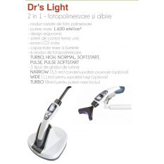 Lampa foto Dr's Light + Kit albire