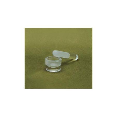 Mojar cu pistil din sticla