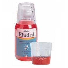 Apa de gura cu clorhexidina Eludril 200 ml